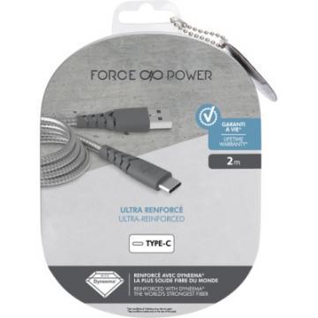 Câble de Charge Renforcé USB-USB C de 2m