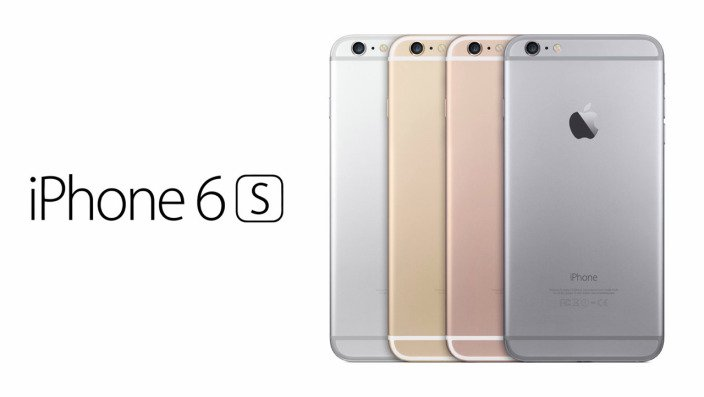 Iphone 6S en Couleurs