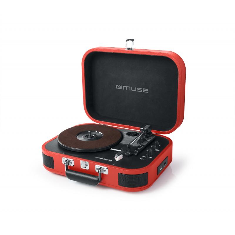 Tourne- Disque Vinyle & Bluetooth Muse